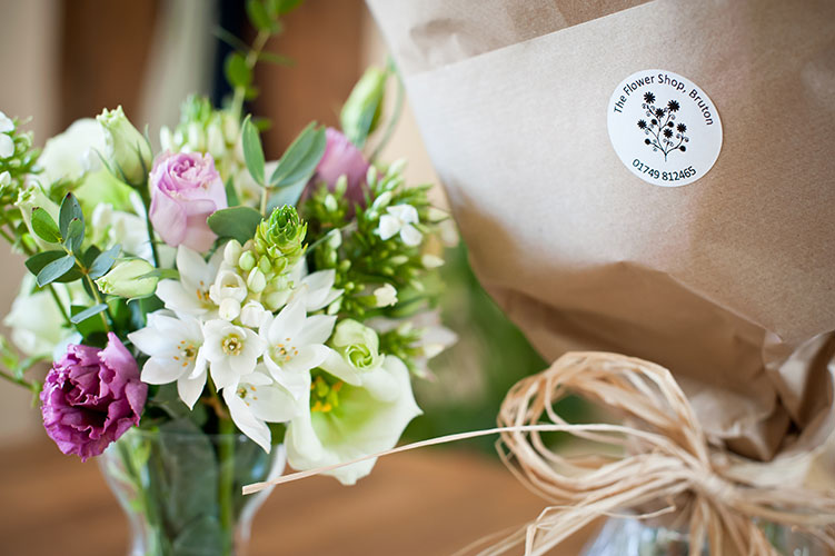Bouquet of flowers for a special party event